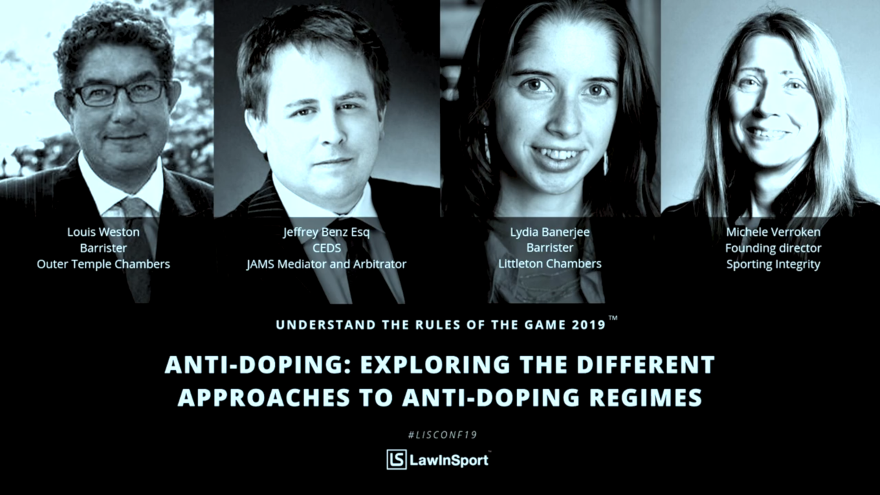 conference antidoping banner