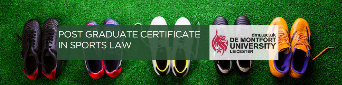De Montfort University Postgraduate Certificate in Sports Law