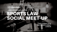 Sports Law Social Meet-Up & Networking Drinks, November 2018