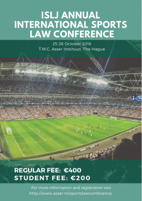 ISLJ Annual International Sports Law Conference