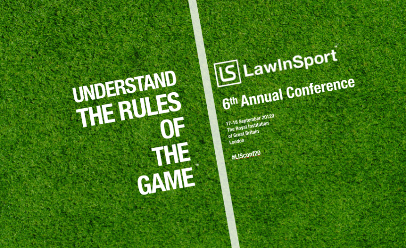 Understand The Rules Of The Game 2020 - LawInSport Annual Conference