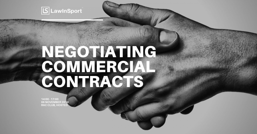 Negotiating commercial contracts - workshop