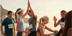 Athletes_High_Fiving_After_a_Race