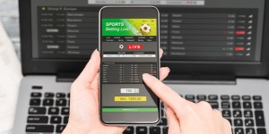 Sports betting on a mobile