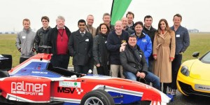 Celebrity team captains at The Circuit in aid of the NSPCC © Theodore Wood Photography