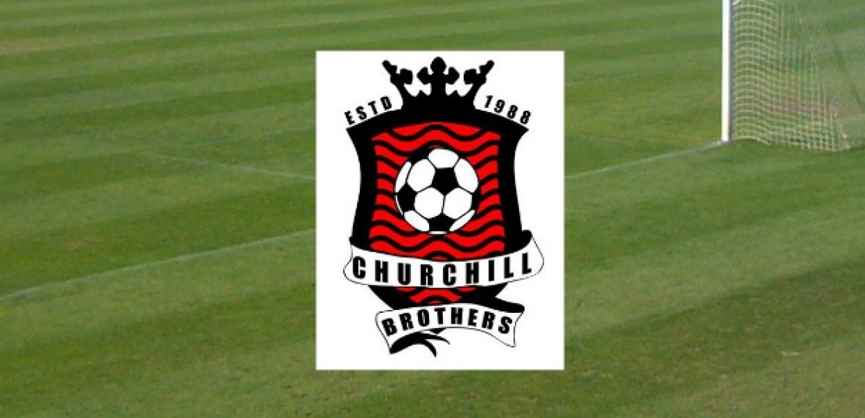 Churchill Brothers Logo on Grass