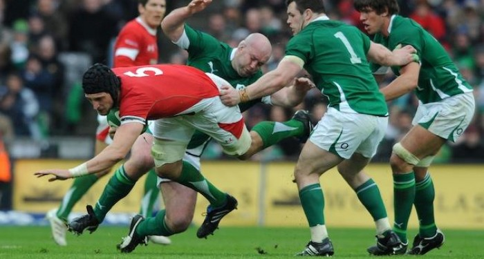 Cian Healy Tackle