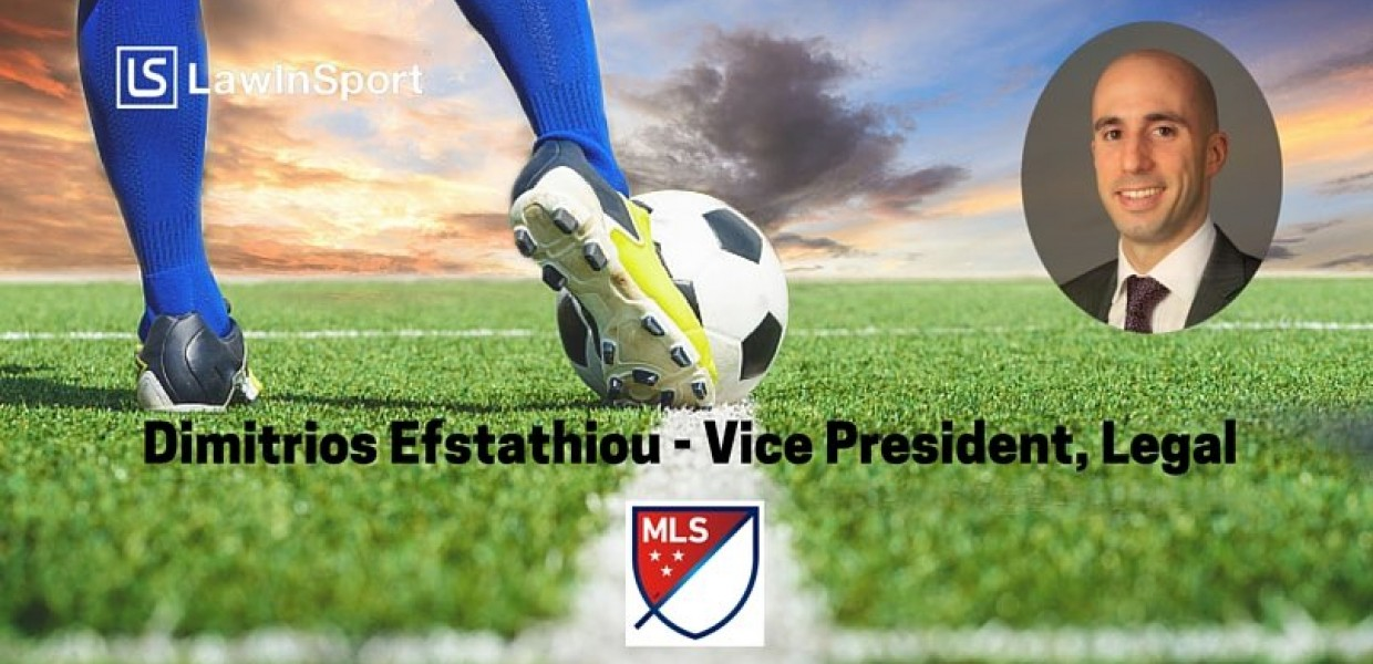 Title image - Dimitrios Efstathiou, Vice President, Legal at Major League Soccer