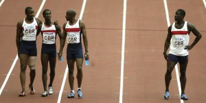Dwain Chambers on his own