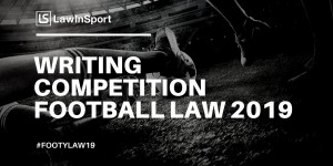 2019 Writing Competition Football Law 2019