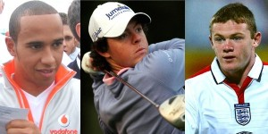 Hamilton in 2007, McIlroy in 2009, Rooney in 2007