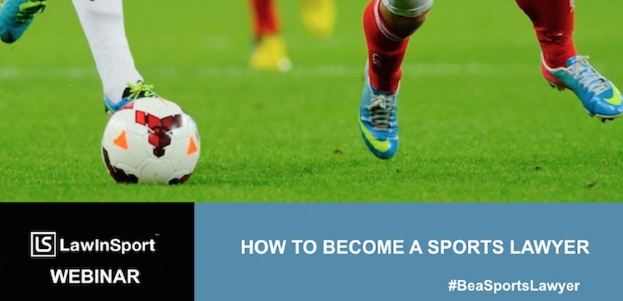 How To Become A Sports Lawyer Webinar