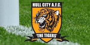 Hull City Logo on Grass