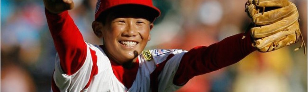 Japanese Little League Baseball Player