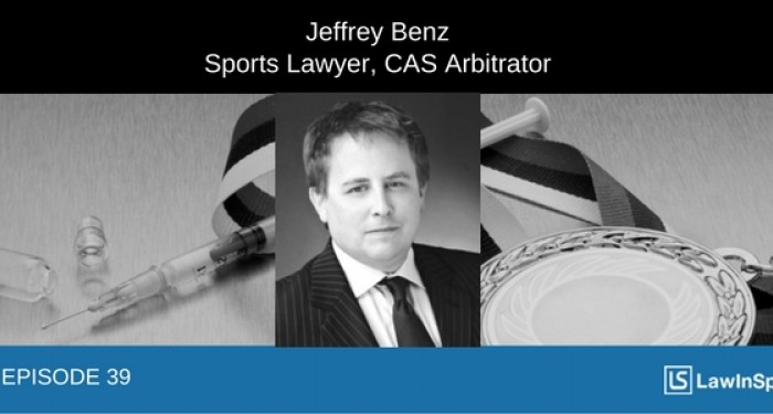 The future of anti-doping: Interview with CAS arbitrator & former General Counsel, USOC - Episode 39