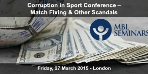 Corruption in Sport Conference – Match Fixing & Other Scandals