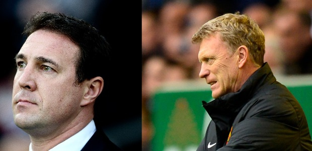 Malky Mackay and David Moyes