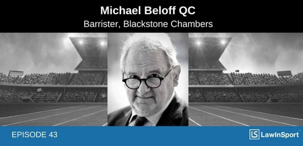 Michael Beloff QC Podcast Title Image