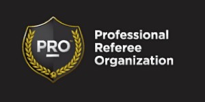 Professional Referee Organization Logo