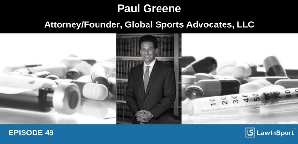 Paul Greene podcast on anti-doping