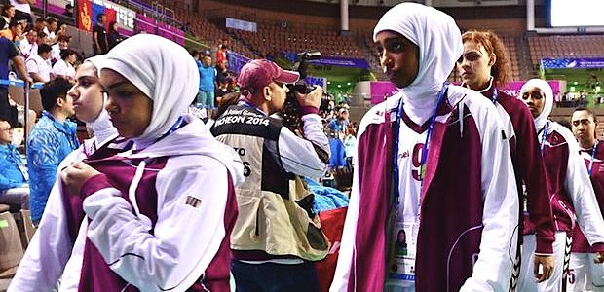 Qatar Womens Basketball Team