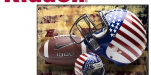 Riddell Logo American Football and helmet