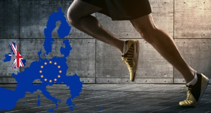 Running_man_with_UK_and_European_Flags