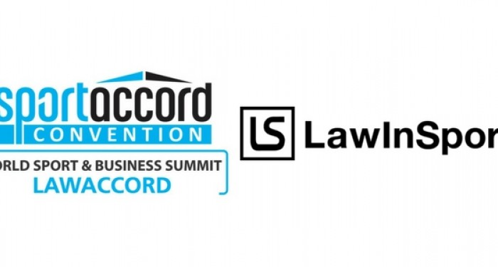 SportAccord, LawAccord, and LawInSport Logos