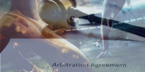 Arbitration agreements and football players on field