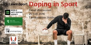 Anti-doping panel 25 Feb 2016 title image of football player on bench