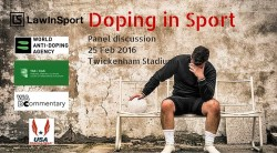 Player sitting on bench holding head - Title image for  What does the future of anti-doping in sport look like following IAAF & Essendon Scandals? Video of panel discussion #LISConf16